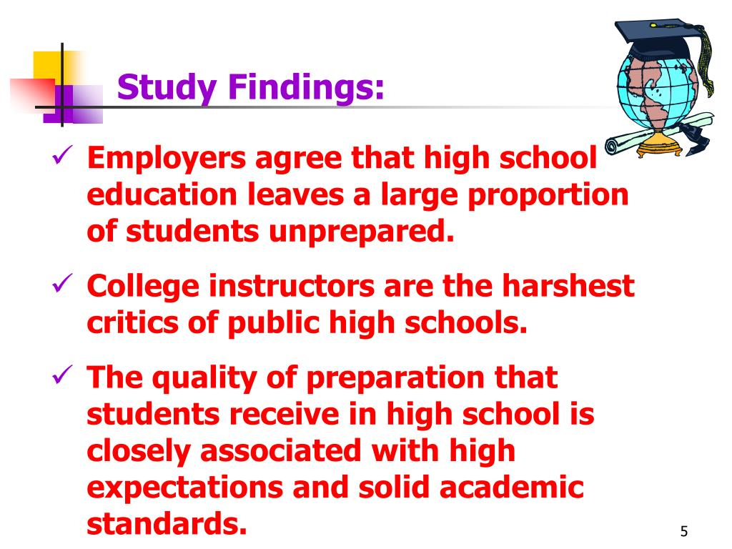 Study Findings:
