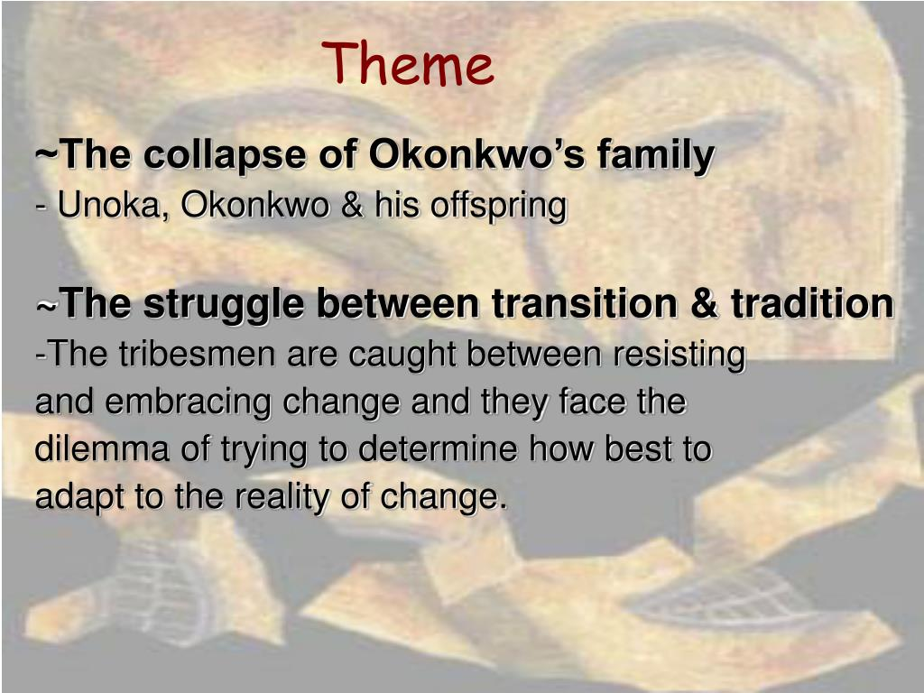 the destruction of umuofia Okonkwo in achebe's things fall apart has long been considered a tragic figure  who  ikemefuna, the war-ransom from mbaino given to umuofia in exchange.
