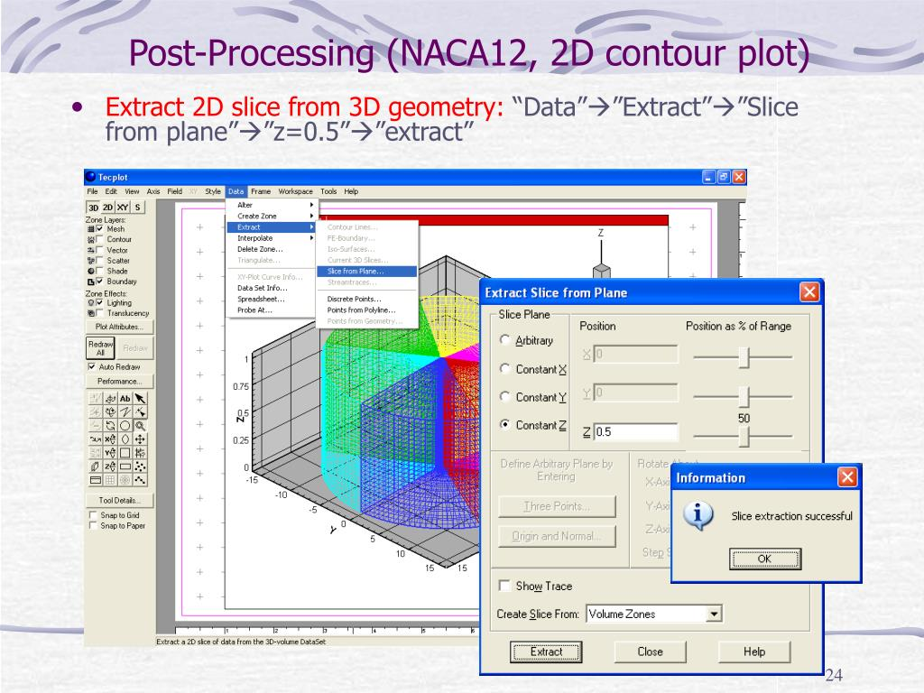 Post-Processing (NACA12, 2D contour plot)