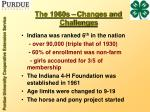 the 1960s changes and challenges