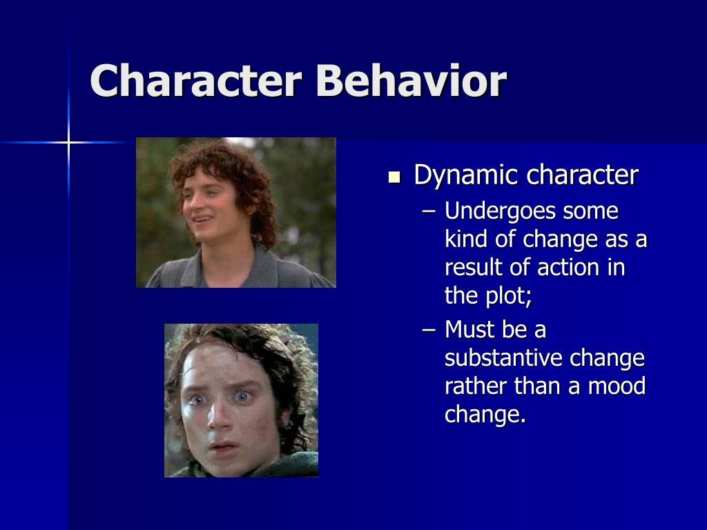 Character Behavior