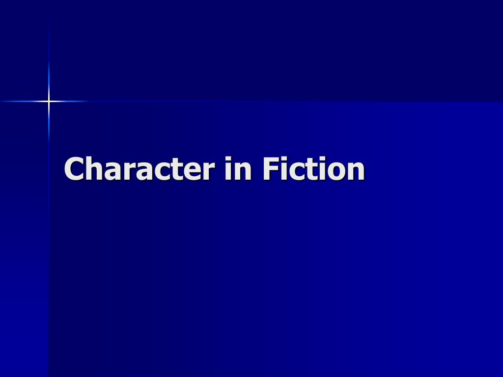 Character in Fiction