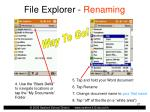 file explorer renaming27