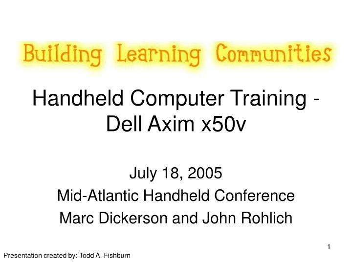Handheld computer training dell axim x50v l.jpg