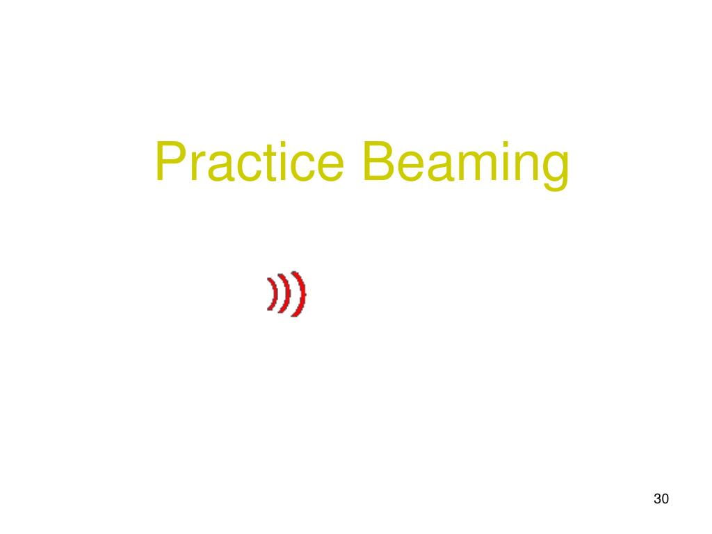 Practice Beaming