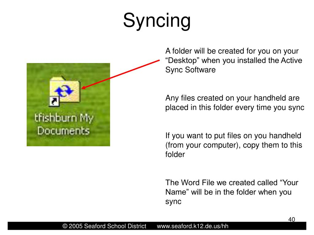 Syncing