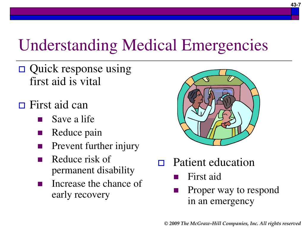 medical emergencies Other common emergencies include vomiting, cardiac emergencies including hypotension or hypertension, or syncopy due to a seizure, hypoglycemia, or a.