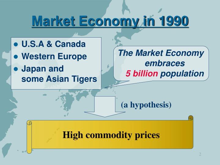 The Market Economy embraces