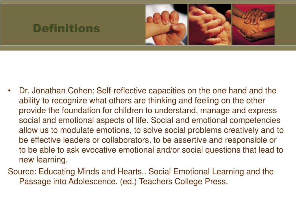 human caring and relationship skills sel