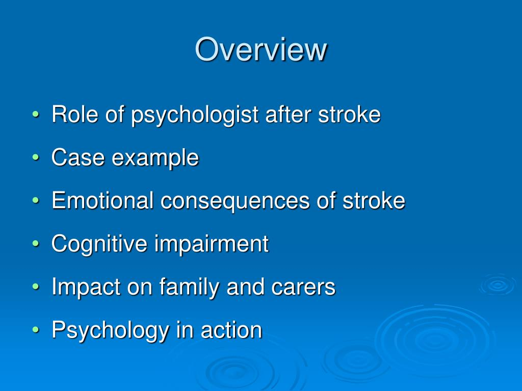 overview of the consequences of cognitive neuropsychology Applied neuropsychology:  neurodevelopmental consequences and neuropsychological implications of traumatic stress  cognitive.