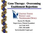 gene therapy overcoming enablement rejections24