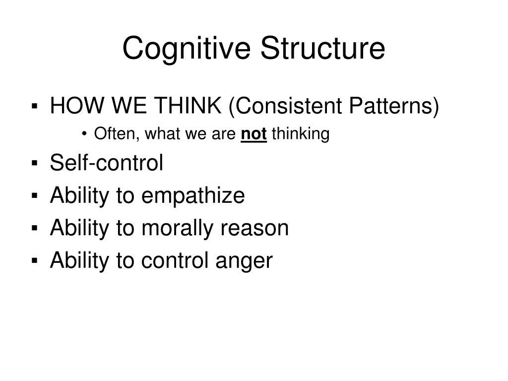 Cognitive Structure