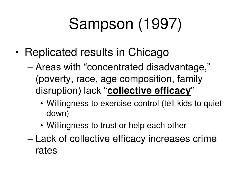 Sampson (1997)