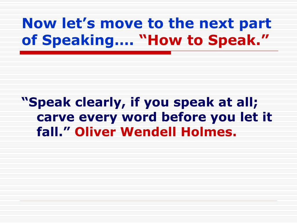 Now let's move to the next part of Speaking….