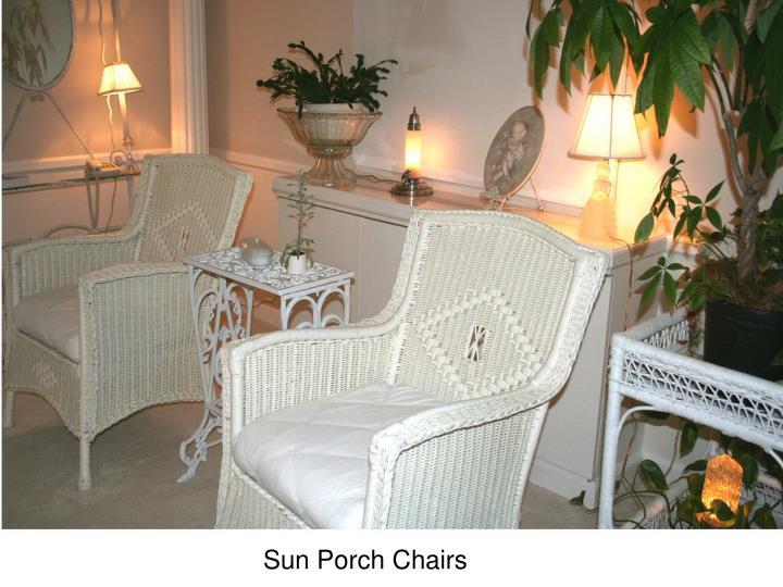 Sun Porch Chairs