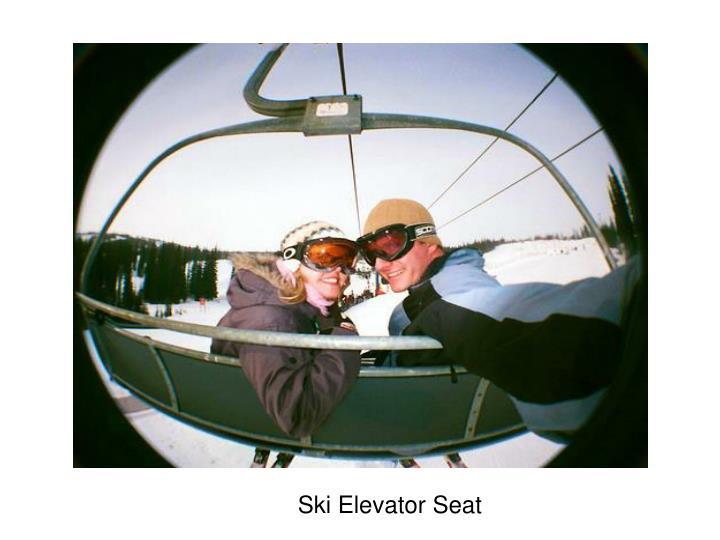 Ski Elevator Seat