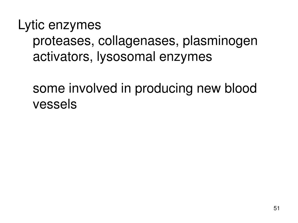 Lytic enzymes