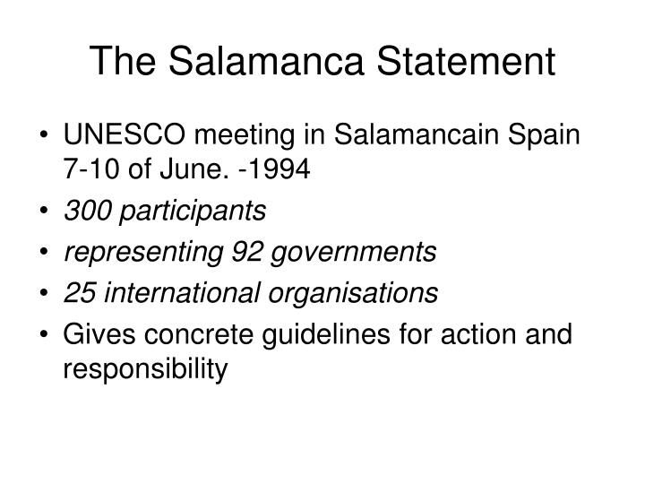 The salamanca statement2