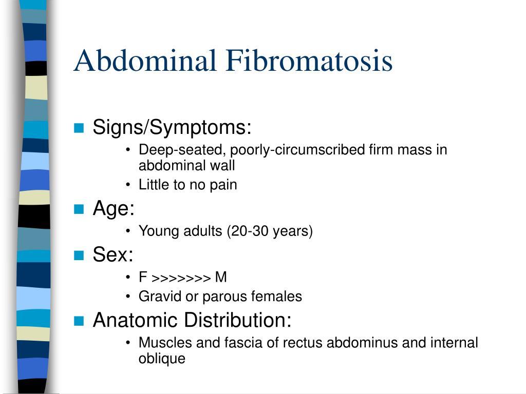 Abdominal Fibromatosis