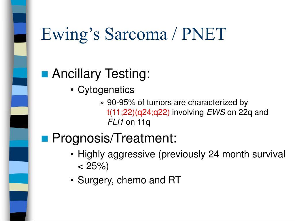 Ewing's Sarcoma / PNET