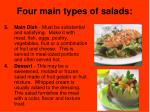 four main types of salads4