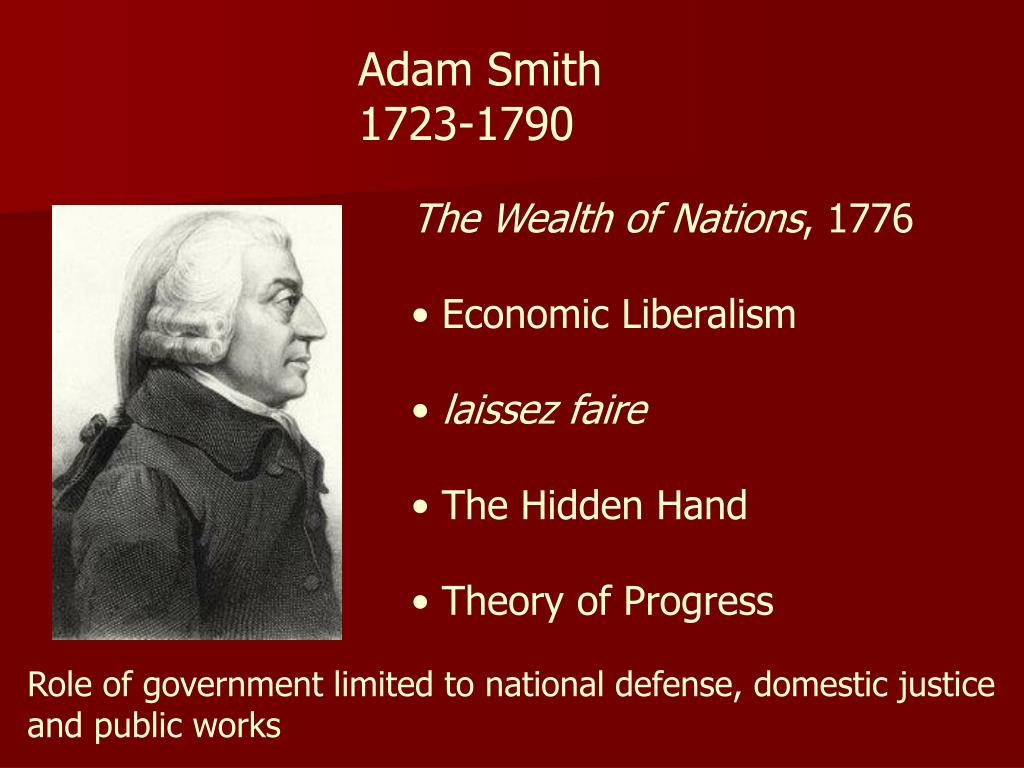 definitions of economics by adam smith Cost and the 'means-end' definition of economics in lionel robbins's essay:  analysis and  and commenting on adam smith's own excursions on this topic.