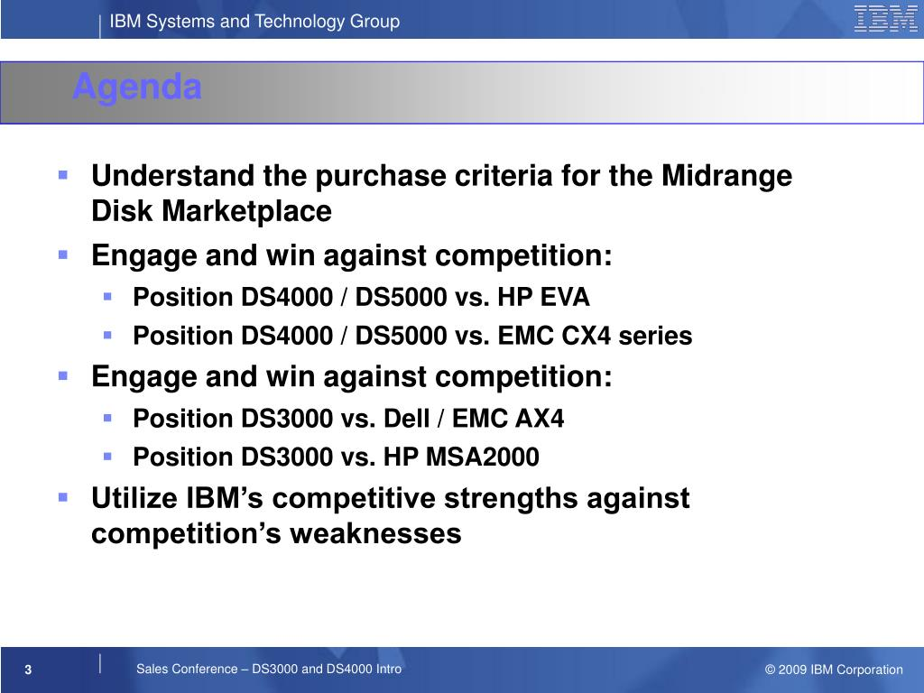 Understand the purchase criteria for the Midrange Disk Marketplace