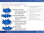 clariion cx4 energy efficiency