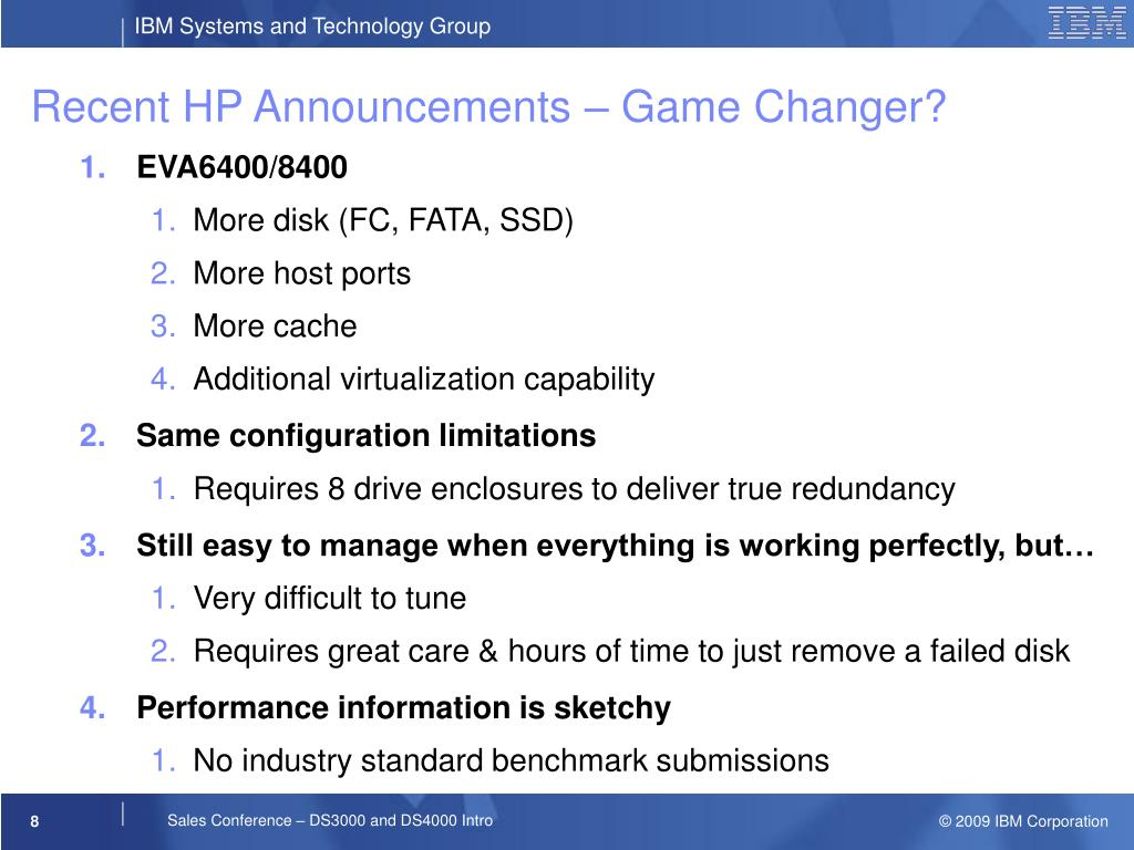 Recent HP Announcements – Game Changer?