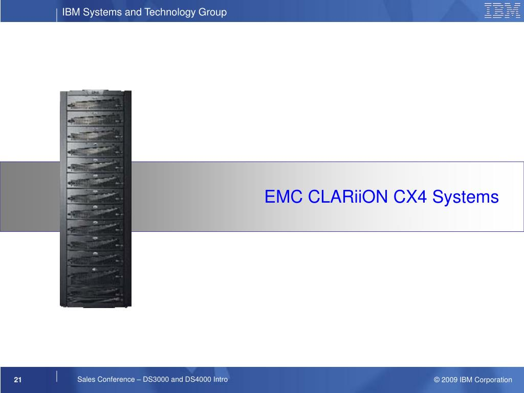 EMC CLARiiON CX4 Systems