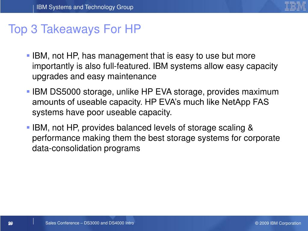 Top 3 Takeaways For HP