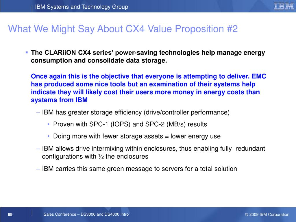 What We Might Say About CX4 Value Proposition #2