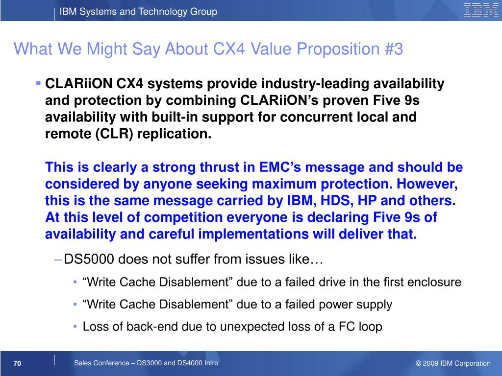 What We Might Say About CX4 Value Proposition #3