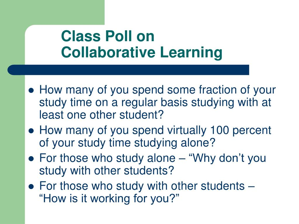 Class Poll on