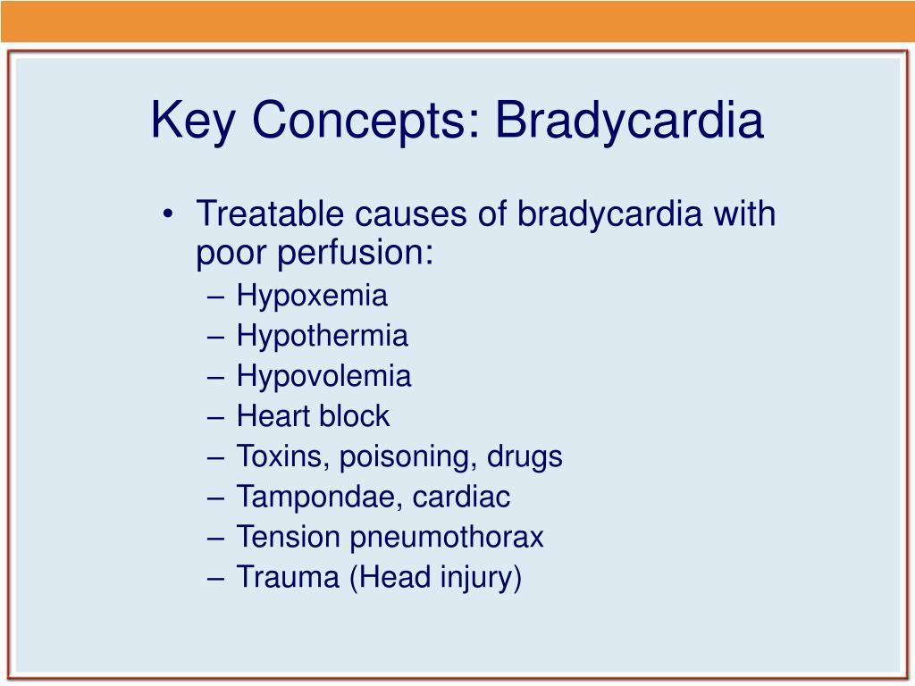 Key Concepts: Bradycardia
