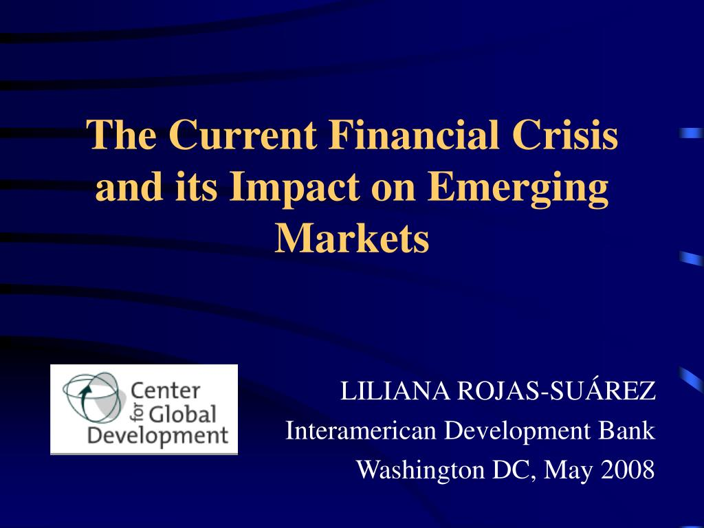 the credit crisis and its impact Research in business and economics journal the financial crisis and its issues, page 3 • july 11, 2007—standard and poor's calls for a credit watch.