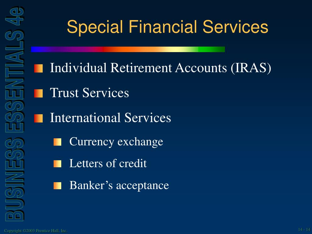 Special Financial Services