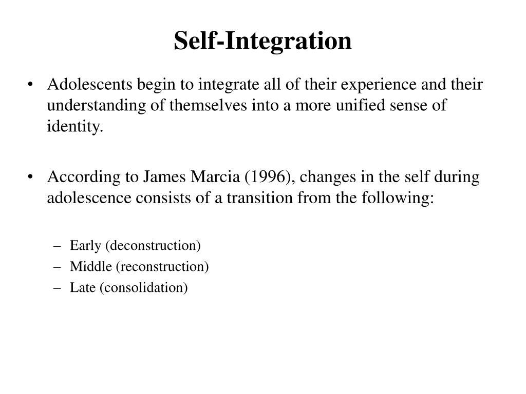Self-Integration