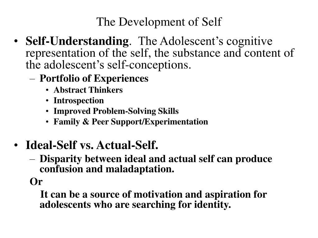 The Development of Self