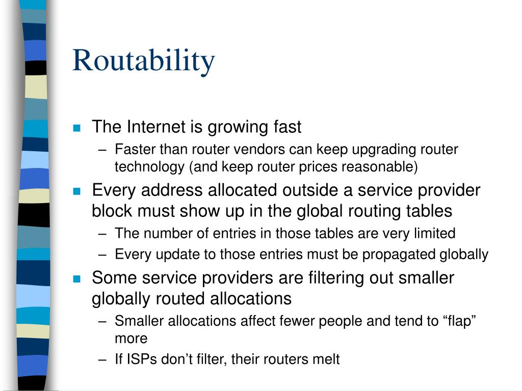 Routability