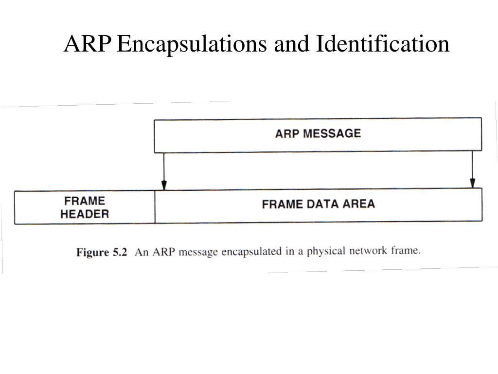 ARP Encapsulations and Identification