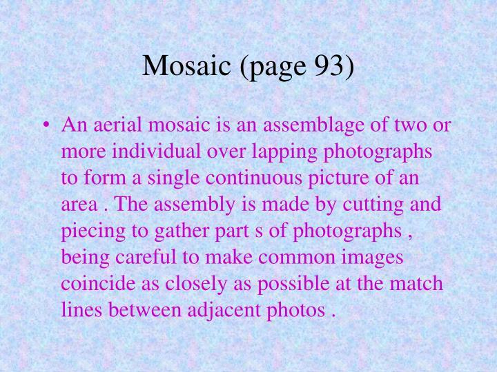Mosaic (page 93)