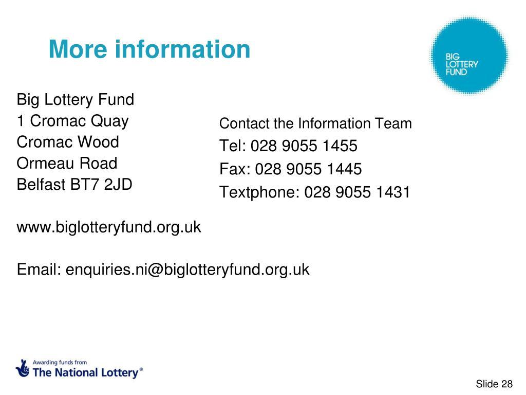 Big Lottery Fund