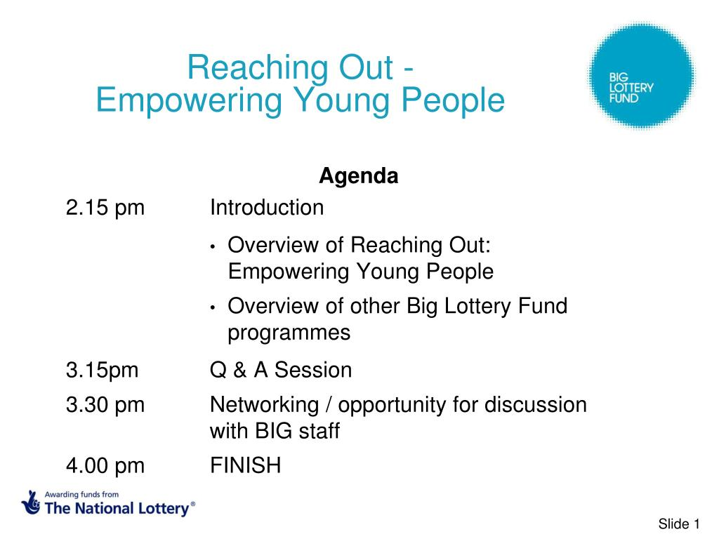 Reaching Out -      Empowering Young People
