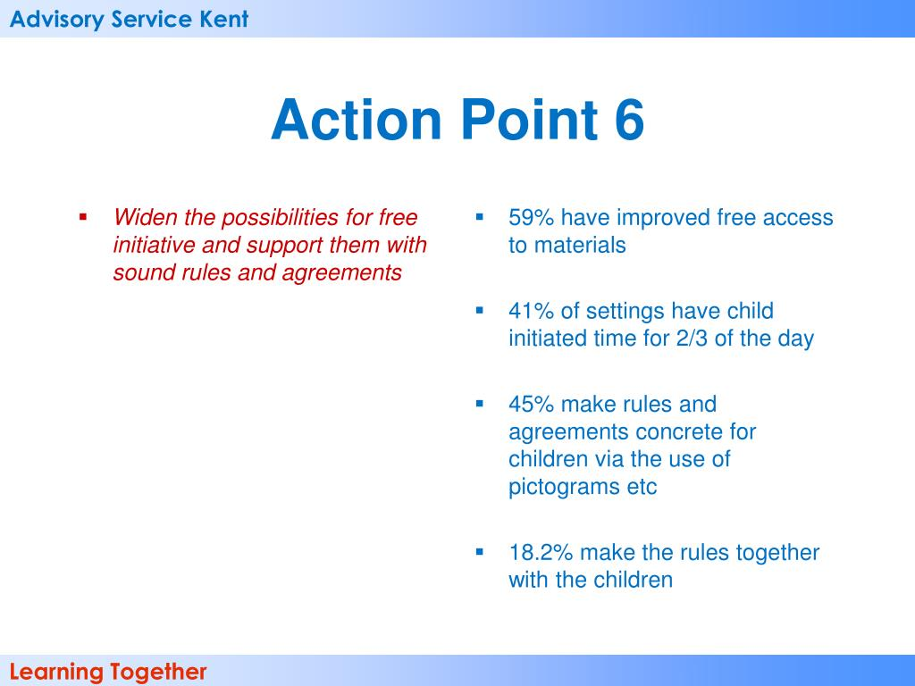 Widen the possibilities for free initiative and support them with sound rules and agreements