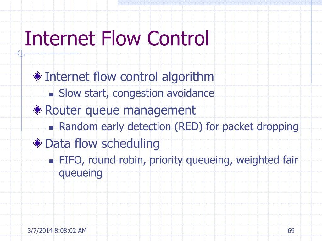 Internet Flow Control