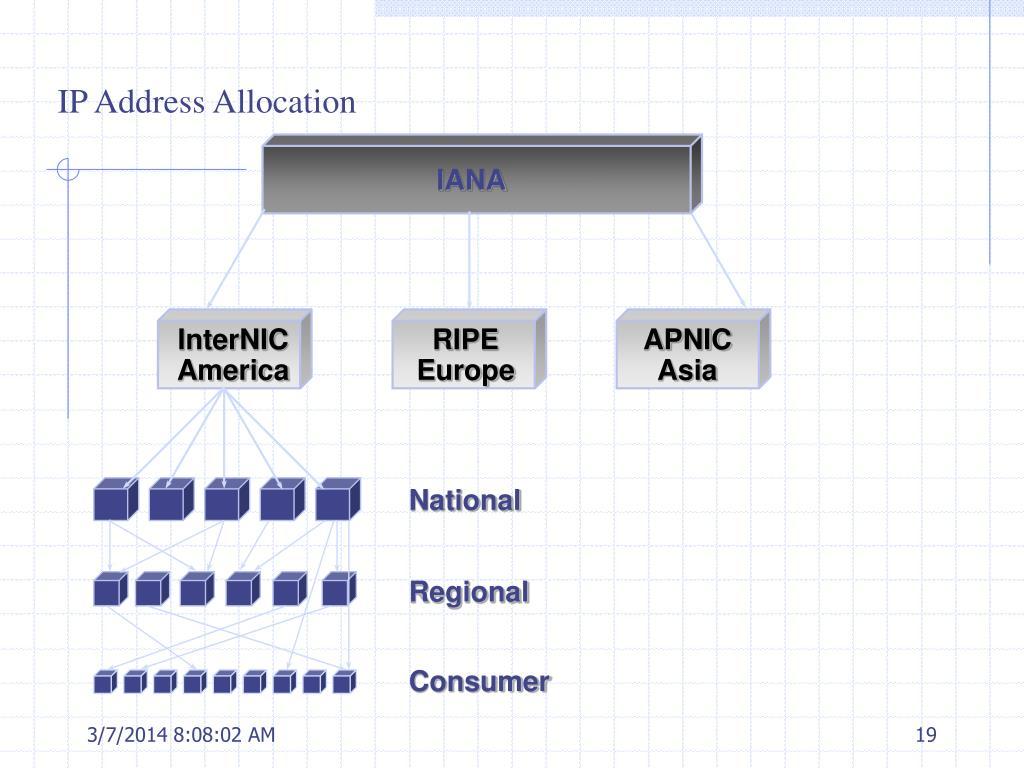 IP Address Allocation