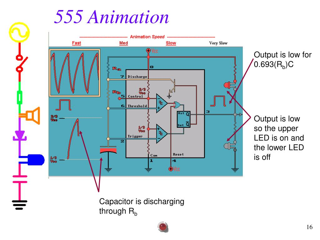555 Timer Animation Related Keywords Suggestions Bistable Multivibrator Circuit Diagram Ppt Experiment 7 Powerpoint Presentation Id