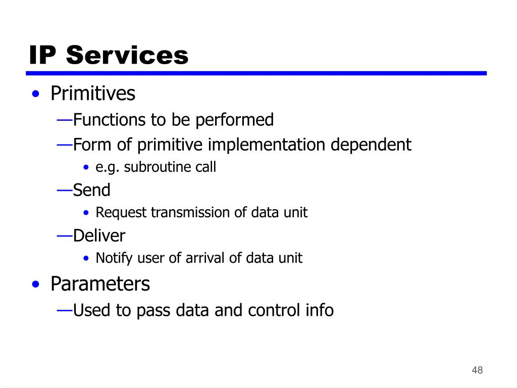 IP Services
