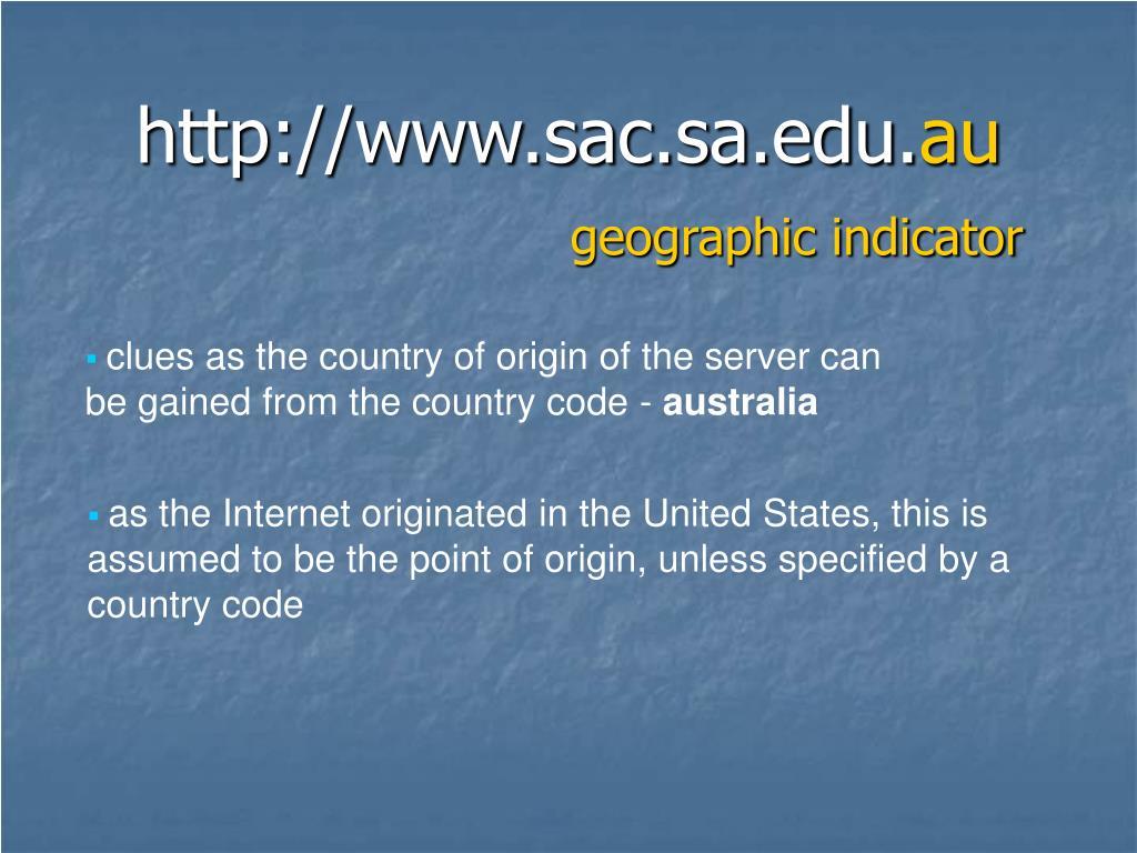 http://www.sac.sa.edu.